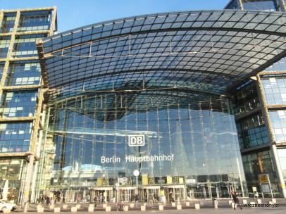 Berlin Hauptbahnhof - dworzec główny