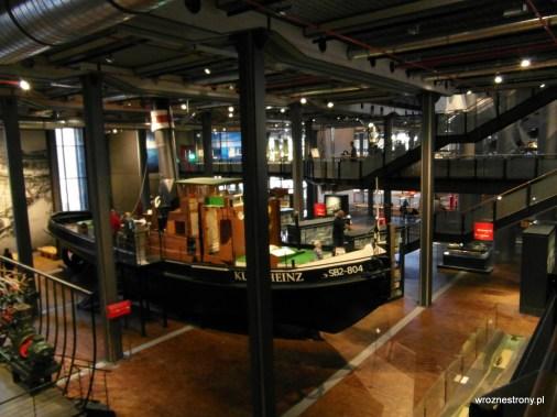 Niemieckie Muzeum Techniki - wystawa statków