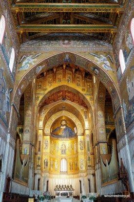 Wnętrze katedry w Monreale
