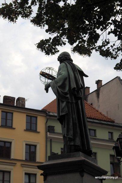 Pomnik Mikołaja Kopernika w Toruniu