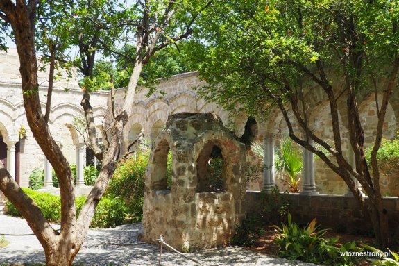 Ogród przy kościele San Giovanni degli Eremiti