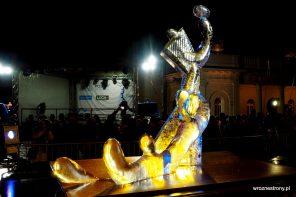 rzeźby lodowe w Poznaniu 2019