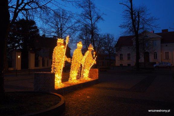 Trzej królowie przed katedrą w Poznaniu