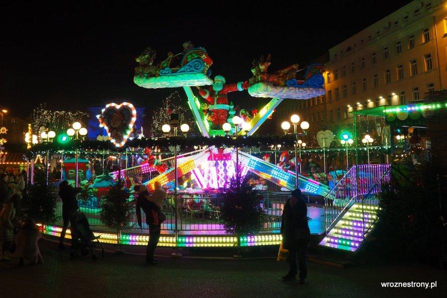 rozrywka dla dzieci, jarmark świąteczny w Poznaniu