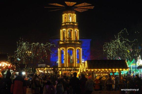 jarmark świąteczny w Poznaniu