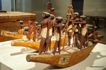 W Muzeum Egipskim w Turynie