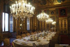 Jadalnia w Palazzo Reale w Turynie