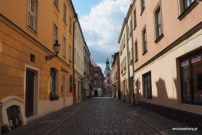 ulica Klasztorna w Poznaniu