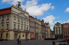 Stary Rynek w Poznaniu, spacer po Poznaniu w czasach koronawirusa