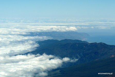 Widok z Teide
