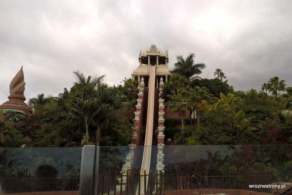 Siam Park - najwyższa zjeżdżalnia Tower of Power