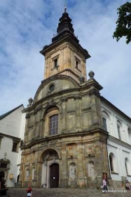 Wieża kościoła na Łysej Górze
