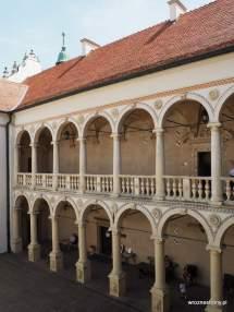 Renesansowe krużganki Małego Wawelu