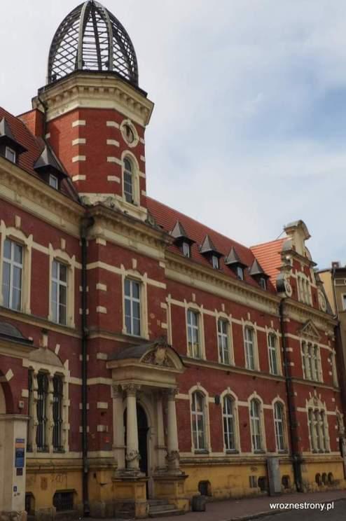 Dawny budynek poczty w Gorzowie