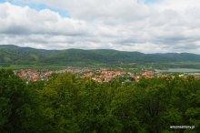 Widok z Góry Parkowej na Góry Sowie