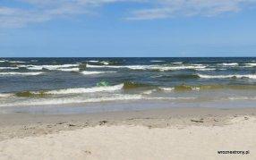 Morze Bałtyckie w Kątach Rybackich