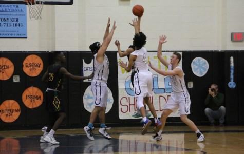 Boys' basketball against Canyon