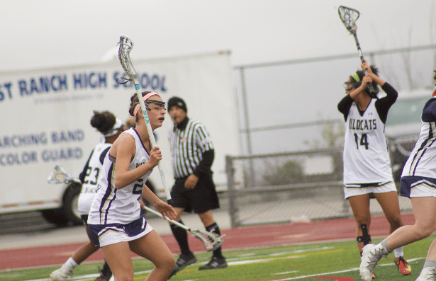 Girls' lacrosse wins against Westridge 18-3