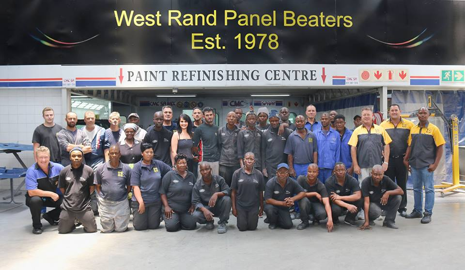 West Rand Panel Beaters Staff
