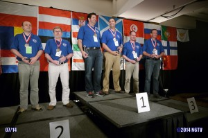 Medal winners at WRTC2014 (N6TV photo)