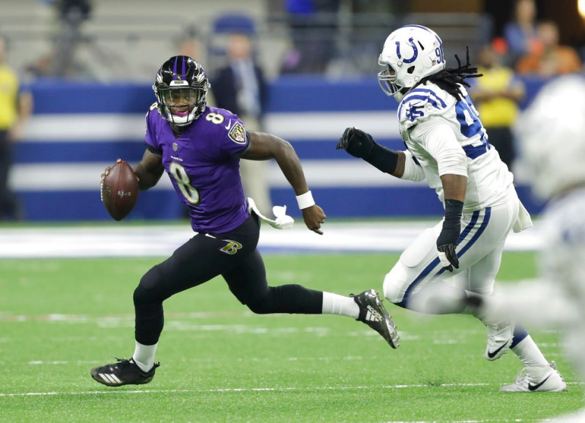 Baltimore Ravens vs. Indianapolis Colts: A Tale of Two Quarterbacks With A  Lot To Prove - ESPN 98.1 FM - 850 AM WRUF