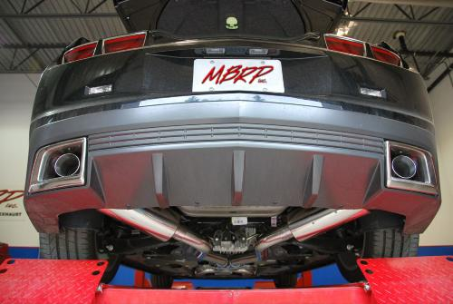 2010 camaro ss mbrp performance exhaust w round tips t409 stainless ws6store com