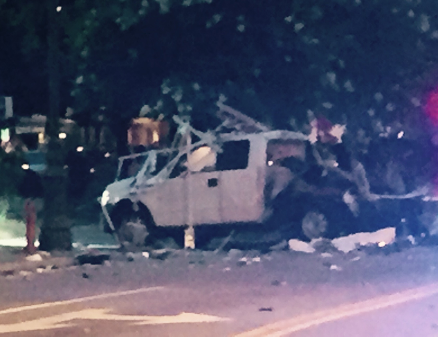 Truck Explosion in Franklin Square_17066