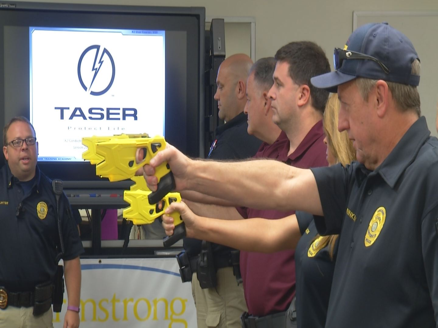 Taser Training at Armstrong State University_144182