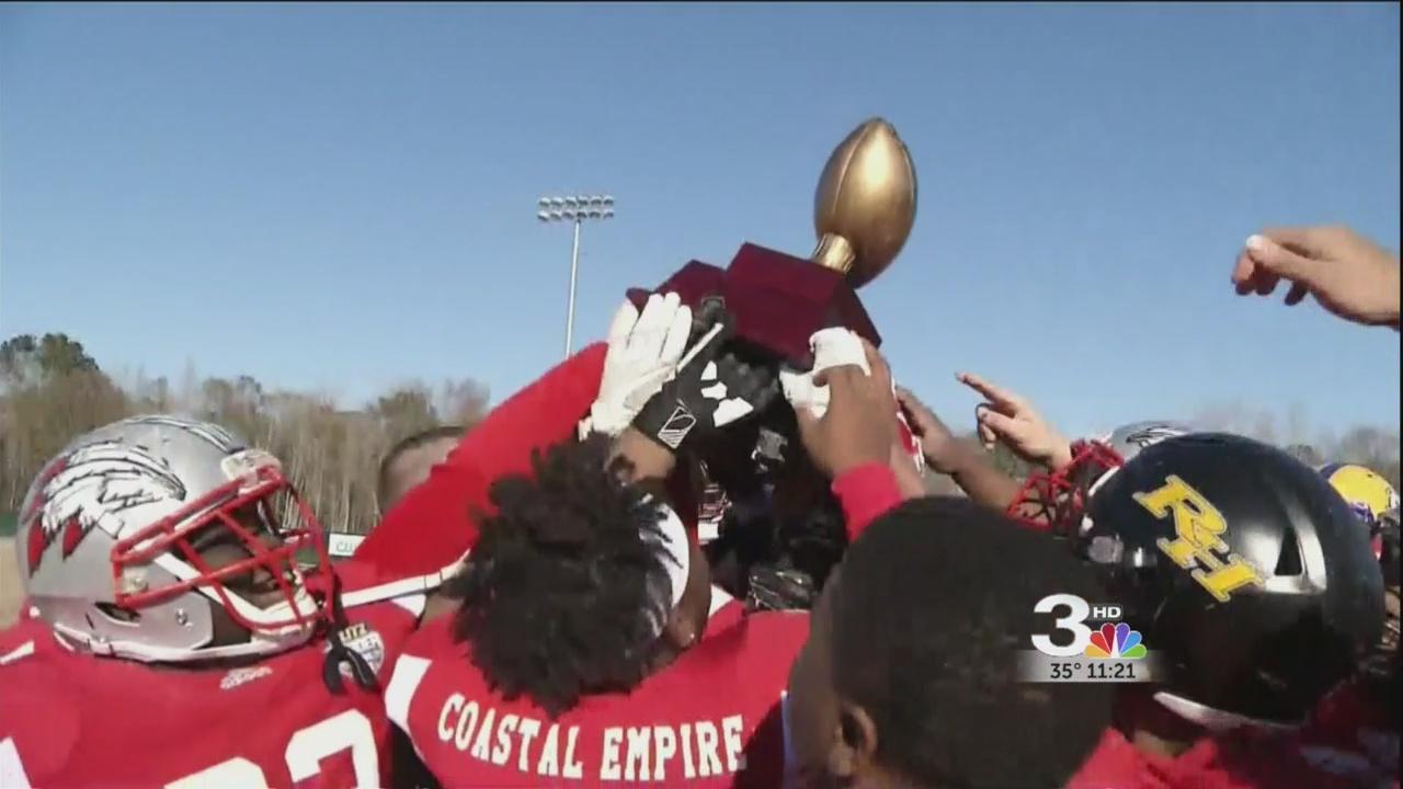 Coastal Empire Wins 1st Blitz Border Bowl