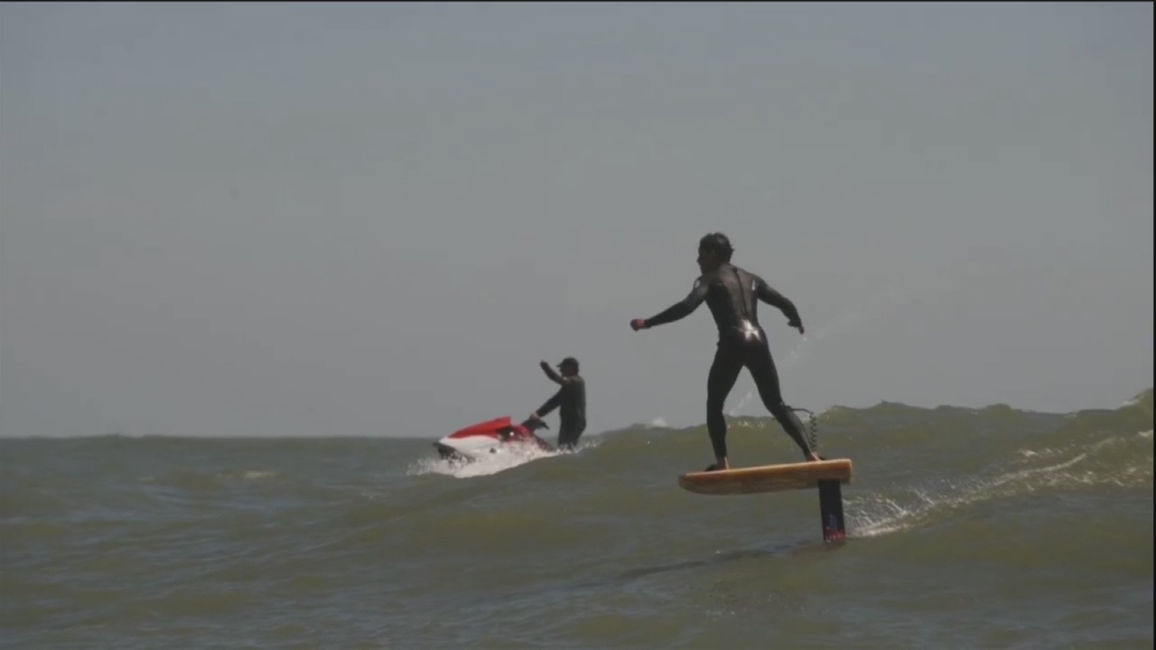Foilboarding may give Lowcountry & Coastal Empire surfing a boost