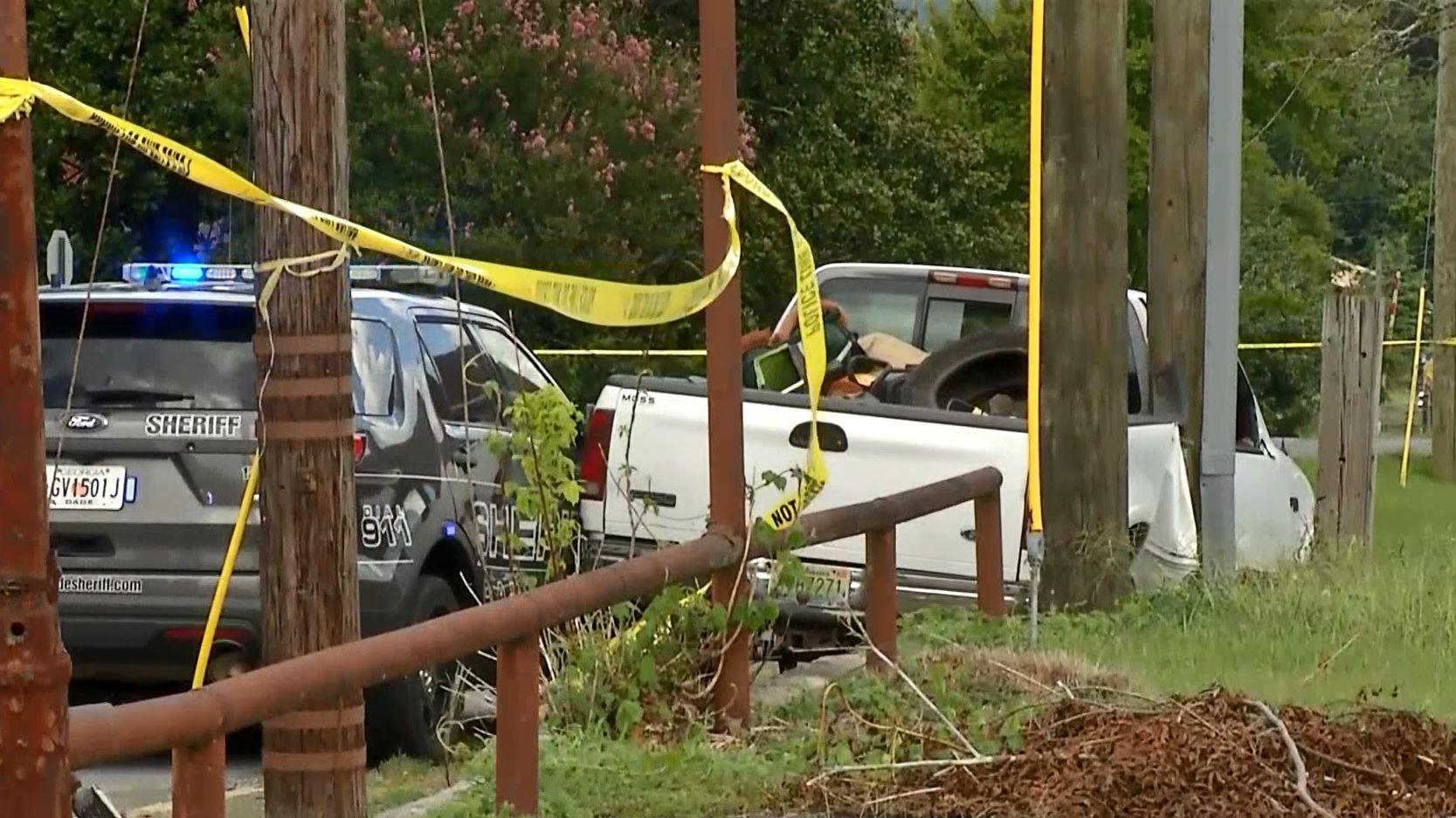 Georgia deputy critically injured in high-speed chase