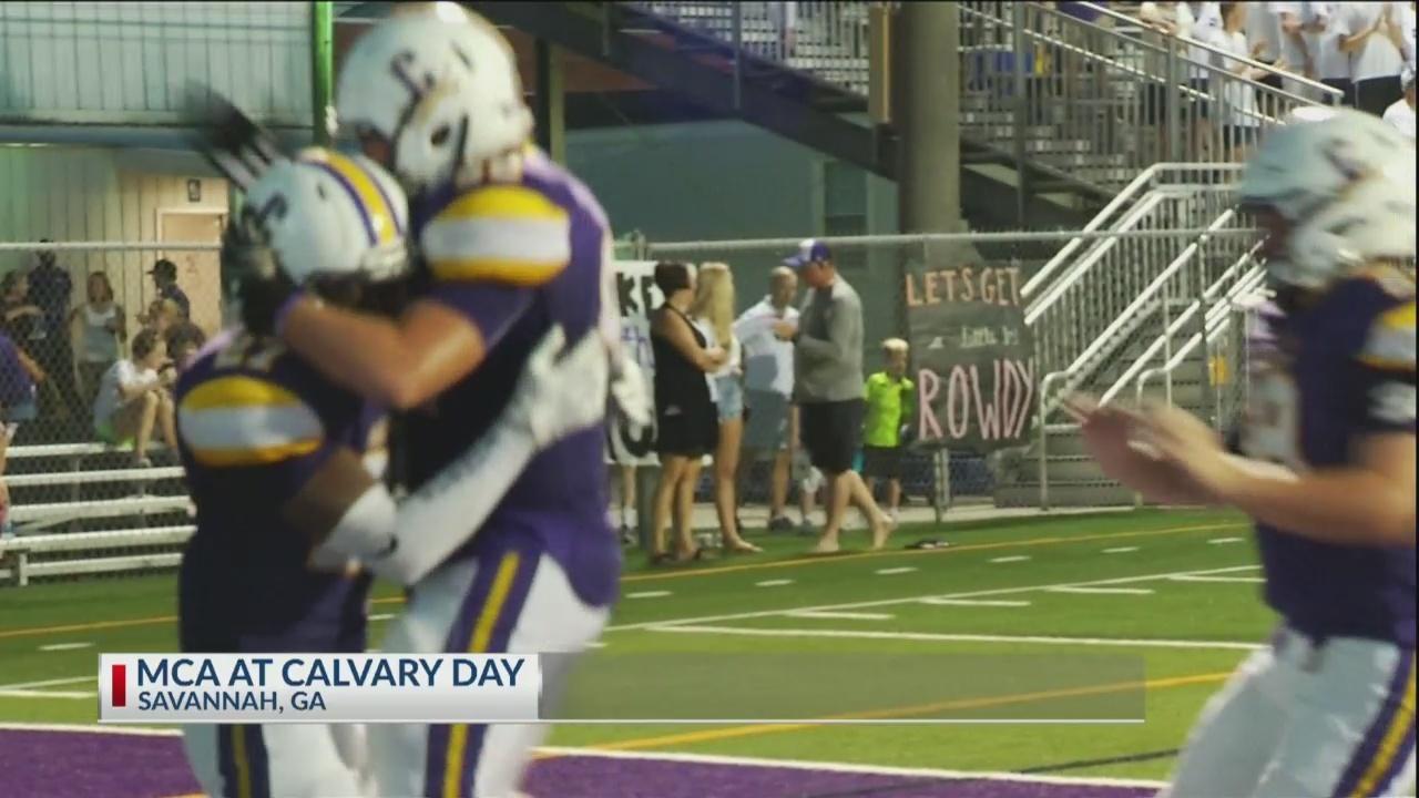 Undefeated Calvary Day tops McIntosh County Academy 52-21