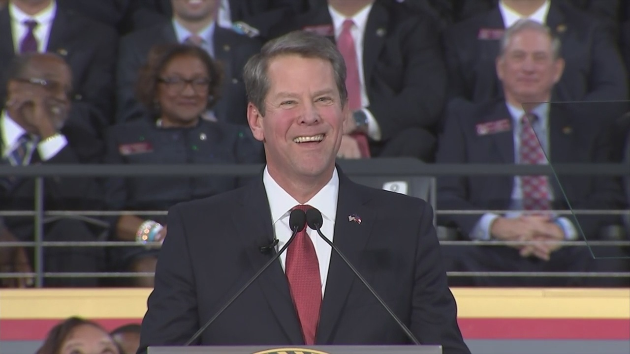 FULL: Governor Brian Kemp's inaugural speech