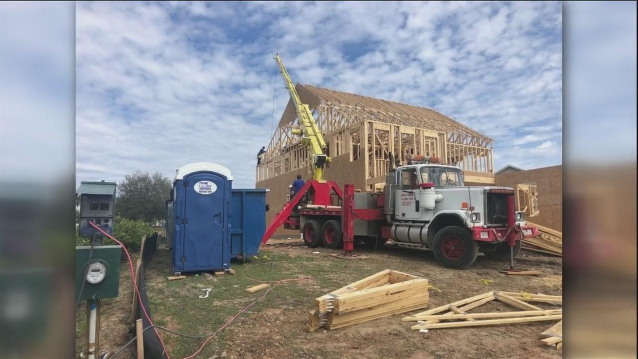 WSAV, builder preparing for St. Jude Dream Home contest