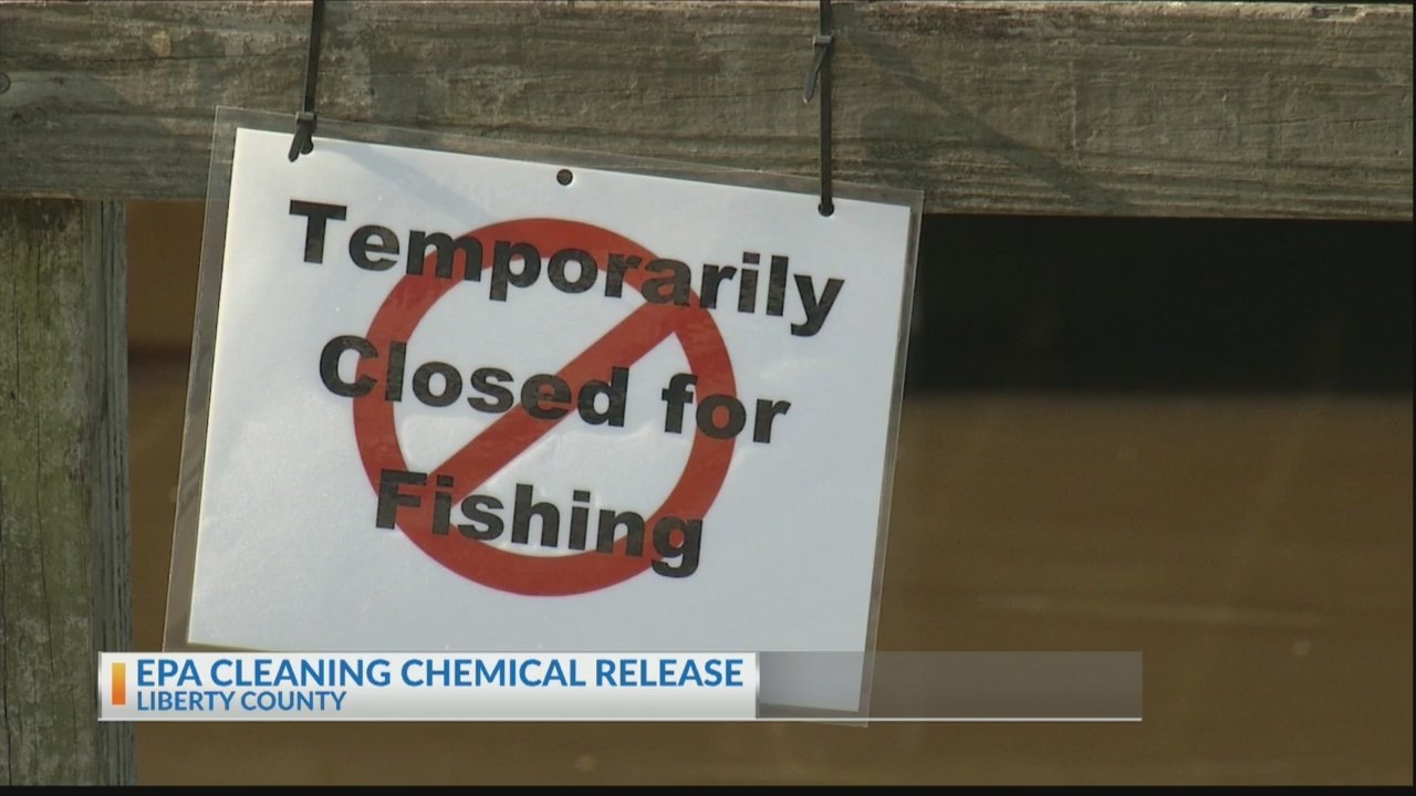 EPA heading to Liberty County after chemical spill