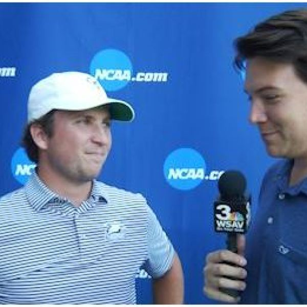 FULL INTERVIEWS: Steven Fisk and Carter Collins following historic final round at NCAA Championships