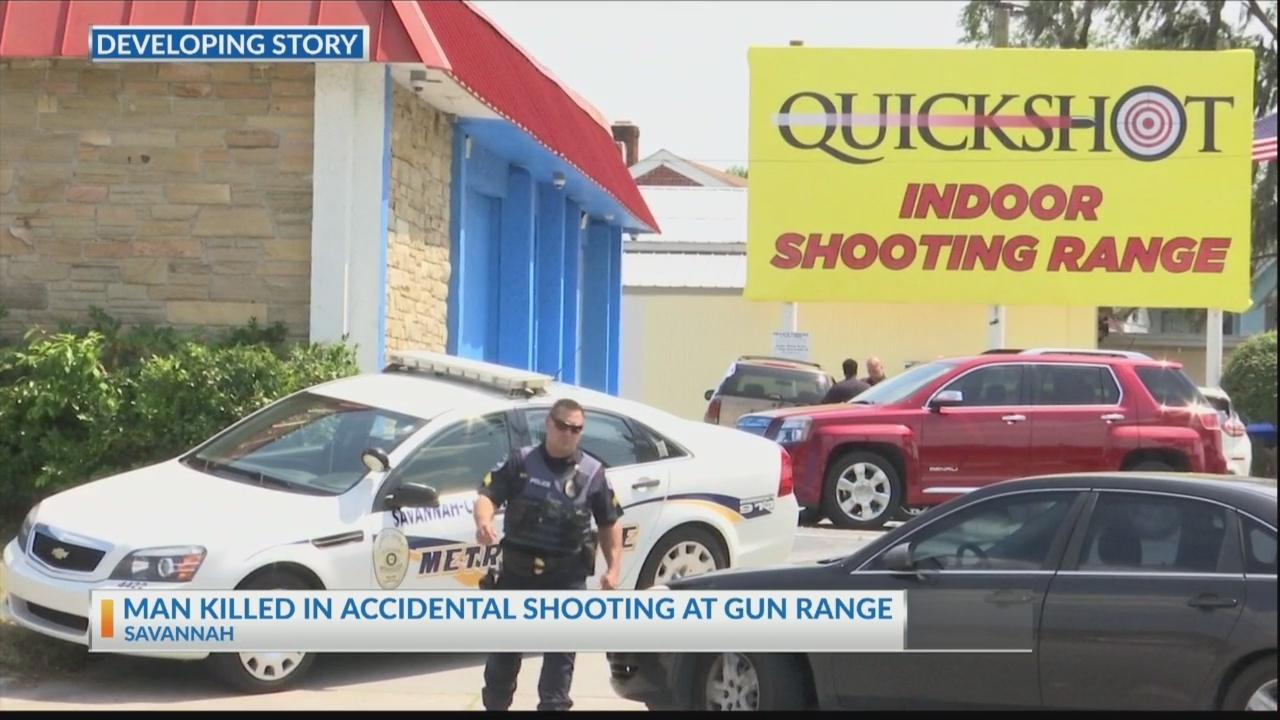 Man killed in accidental shooting at gun range