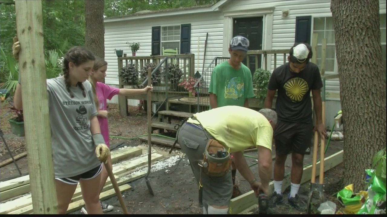 Students spend summer helping others, visiting South Carolina this week