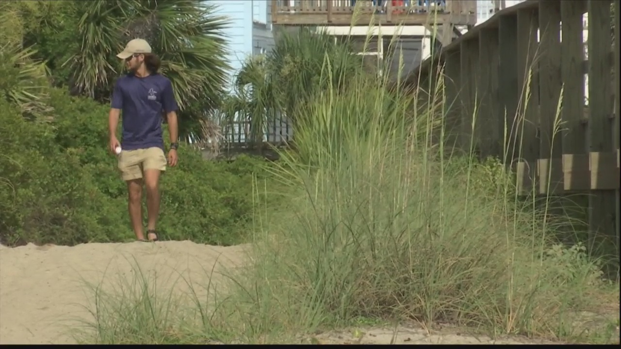 Why does Coastal Health District issue beach advisories?