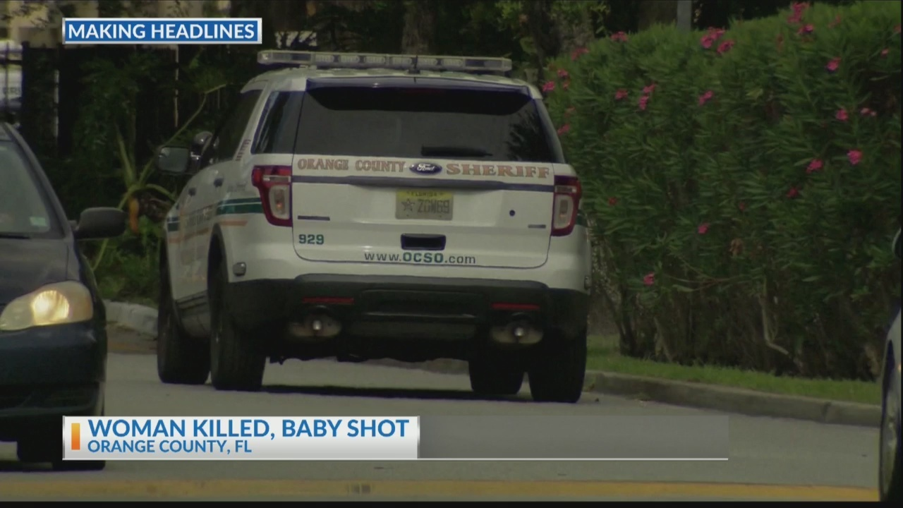 Woman and baby shot at Florida apartment complex