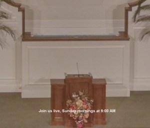 Sunday Morning Worship @ Walnut Street Church of Christ