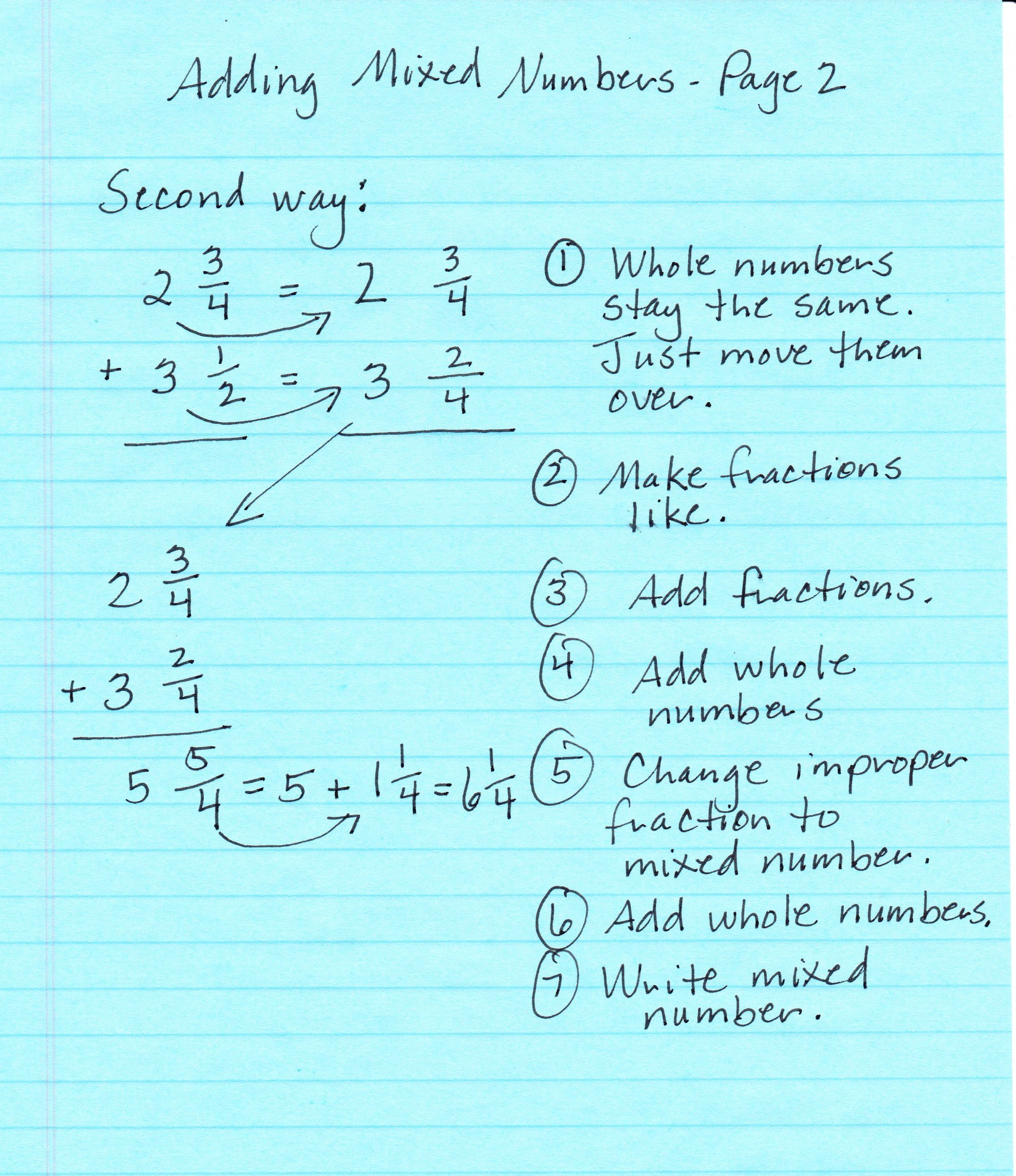 Mabb Christina M Class Math Notes