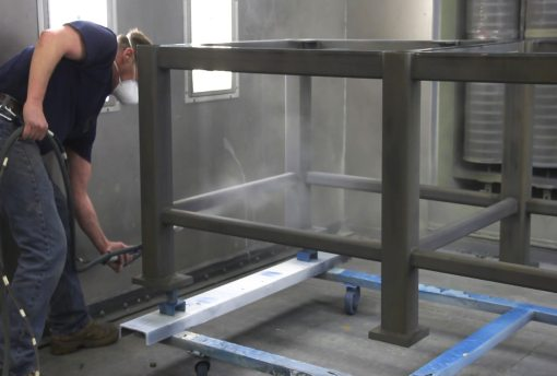 Batch Powder Coating