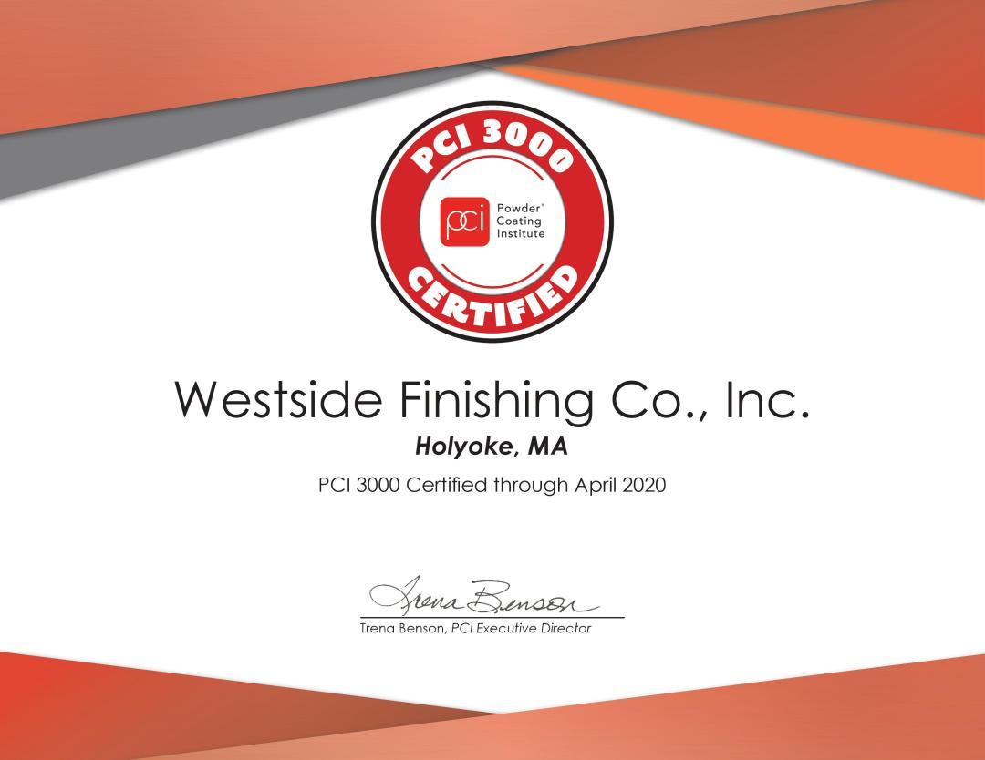 Certified PCI 3000 Compliant