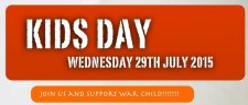 Kids Day – Wed 29th July