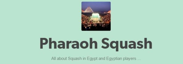 More Egyptian News on Pharaoh Squash