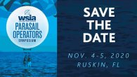 Mark your calendars! The WSIA Parasail Operators Symposium is returning to Ruskin, FL November 4-5, 2020.