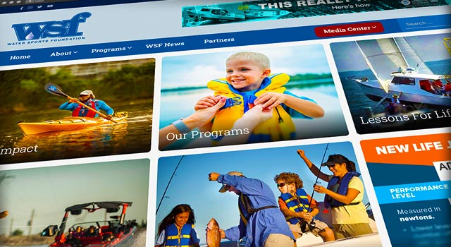 """The Water Sports Foundation (WSF) has just completed the first phase and launch of its new """"National Boating Safety Media Center"""" which is designed to facilitate and support the work of journalists assigned to cover boating safety topics."""