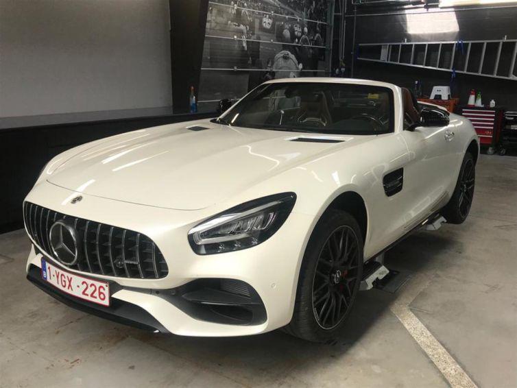 Privévoertuig Mercedes