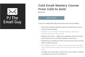 Cold Email Mastery Course From Cold to Gold